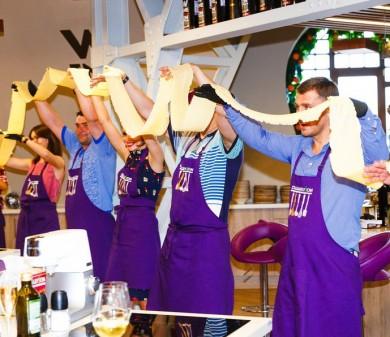 Частный день рождения в стиле кулинарного мастер класса